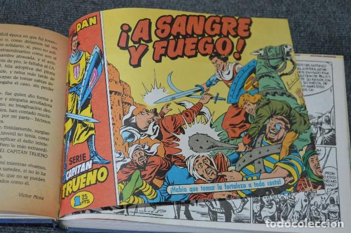 Tebeos: Tomos 1 y 2 El Capitán Trueno - 1 a 96 /// 1-56 DAN y 57-96 Super Aventuras - Facsímil - Ediciones B - Foto 24 - 117111843