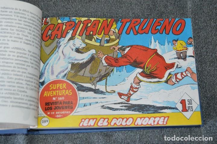 Tebeos: Tomo con 48 números - El Capitán Trueno - Fascículos 289 al 336 - Facsímil - Ediciones B - Foto 2 - 117112671
