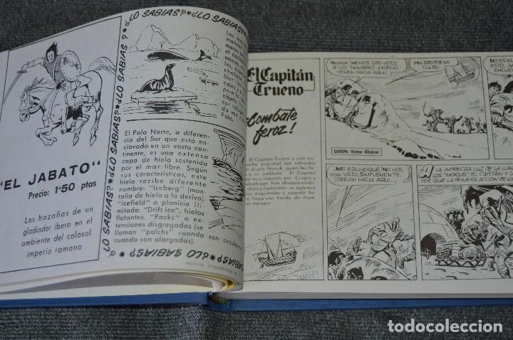 Tebeos: Tomo con 48 números - El Capitán Trueno - Fascículos 289 al 336 - Facsímil - Ediciones B - Foto 11 - 117112671