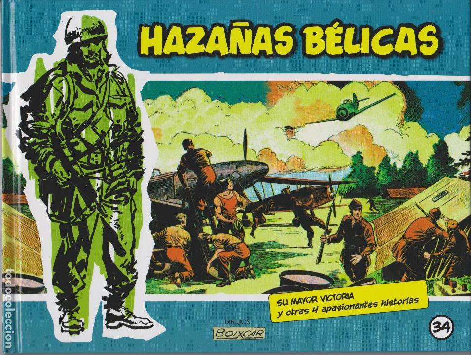 HAZAÑAS BÉLICAS 34 TAPA DURA. PLANETA DEAGOSTINI (Tebeos y Comics - Tebeos Reediciones)