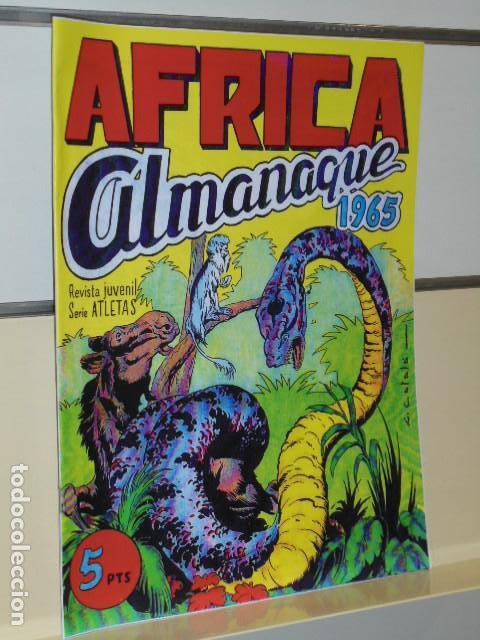 ALMANAQUE AFRICA AÑO 1965 - REEDICION (Tebeos y Comics - Tebeos Reediciones)