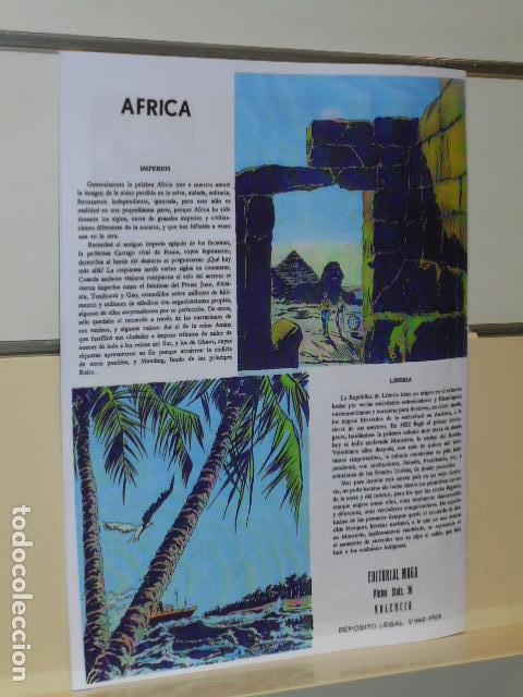 Tebeos: ALMANAQUE AFRICA AÑO 1965 - REEDICION - Foto 4 - 218587948