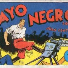 Tebeos: JUAN CENTELLA Nº 16 - EL RAYO NEGRO. Lote 118039383