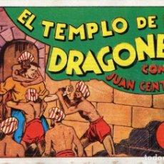 Tebeos: JUAN CENTELLA Nº 14 - EL TEMPLO DE LOS DRAGONES. Lote 118039399