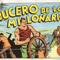 Tebeos: JUAN CENTELLA Nº 10 - EL CRUCERO DE LOS MILLONARIOS. Lote 118039467
