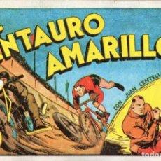 Tebeos: JUAN CENTELLA Nº 9 - EL CENTAURO AMARILLO. Lote 118039483