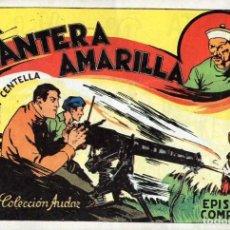 Tebeos: JUAN CENTELLA Nº 5 - LA PANTERA AMARILLA. Lote 118039551