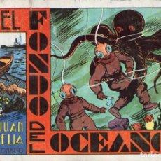 Tebeos: JUAN CENTELLA Nº 3 - EN EL FONDO DEL OCÉANO. Lote 118039571