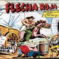 Tebeos: FLECHA ROJA COMPLETA. 79 NUMEROS. EXCELENTE REEDICION EN TRES TOMOS DE LUJO. MAGA. Lote 118407639
