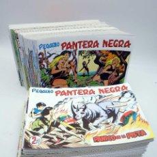 Tebeos: PANTERA NEGRA SEGUNDA 125 A 329. COMPLETA 205 NºS. MAGA (P. Y M. QUESADA) 1980. FACSIMIL. OFRT. Lote 174972854