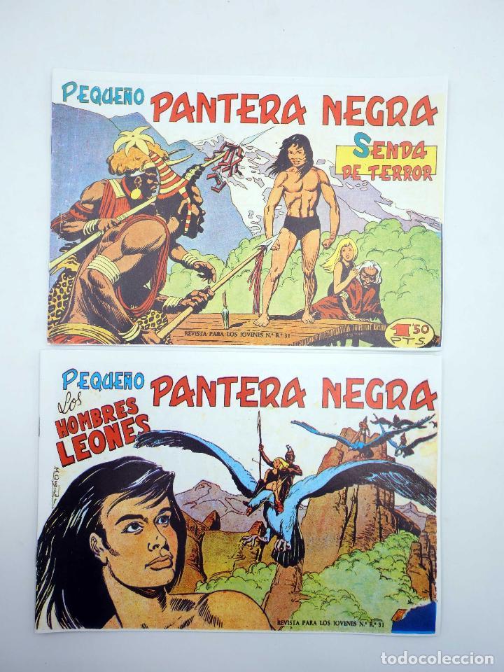 Tebeos: PANTERA NEGRA SEGUNDA 125 A 329. COMPLETA 205 NºS. MAGA (P. Y M. Quesada) 1980. FACSIMIL. OFRT - Foto 4 - 174972854