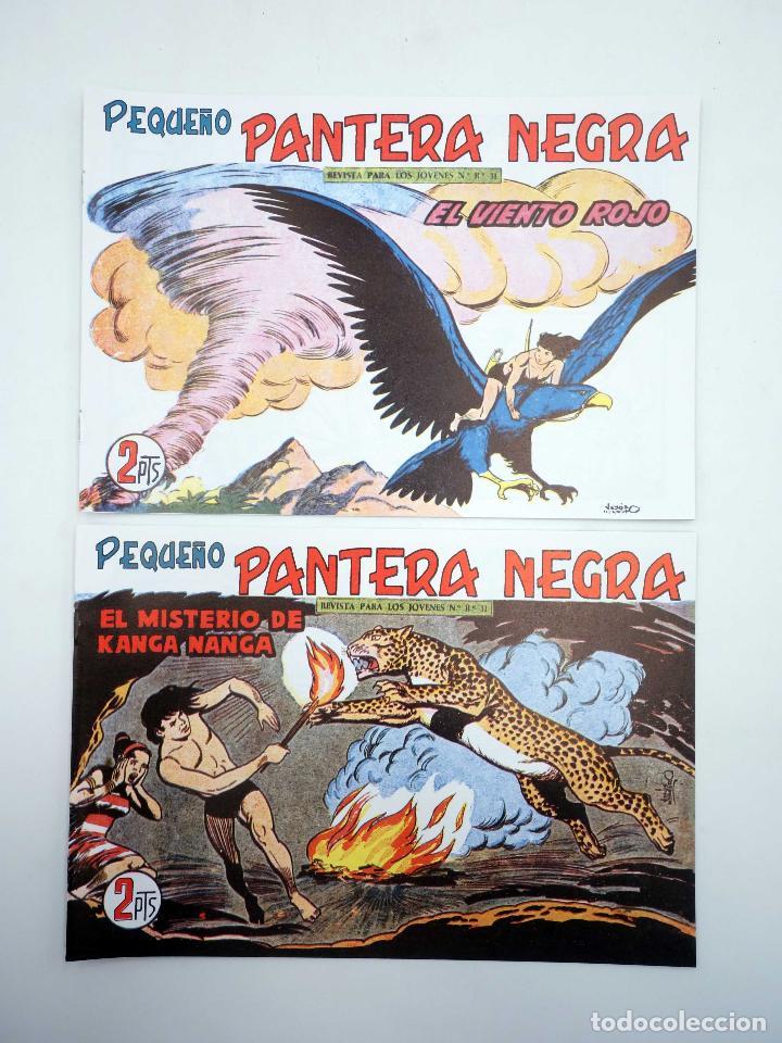 Tebeos: PANTERA NEGRA SEGUNDA 125 A 329. COMPLETA 205 NºS. MAGA (P. Y M. Quesada) 1980. FACSIMIL. OFRT - Foto 10 - 174972854