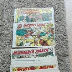 Tebeos: GUERRERO DEL ANTIFAZ, CUADERNILLOS 150 AL 214. Lote 120734427