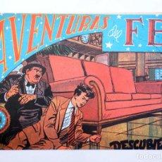BDs: AVENTURAS DEL FBI 74. DESCUBIERTO (LUIS BERMEJO) COMIC MAM?, 1990. Lote 121036455