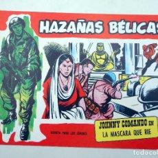 BDs: HAZAÑAS BÉLICAS 282. JOHNNY COMANDO LA MÁSCARA QUE RÍE (SOTILLOS / DOYER) COMIC MAM, 1990. FACSIMIL. Lote 121037170