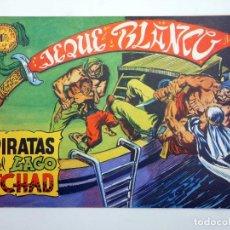 BDs: JEQUE BLANCO 5. PIRATAS DEL LAGO TCHAD (NO ACREDITADO) ANDINA, 1982. FACSIMIL. Lote 121037238