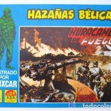 Tebeos: HAZAÑAS BELICAS Nº 24 EDICIONES G4 ILUSTRADO POR BOIXCAR. Lote 121037311