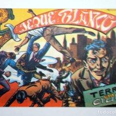 BDs: JEQUE BLANCO 22. TERROR EN LA CIUDAD (NO ACREDITADO) ANDINA, 1982. FACSIMIL. Lote 121037395