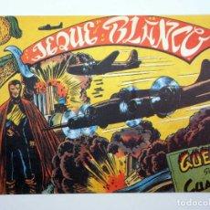 BDs: JEQUE BLANCO 23. GUERRA SIN CUARTEL (NO ACREDITADO) ANDINA, 1982. FACSIMIL. Lote 130378100