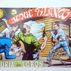 BDs: JEQUE BLANCO 53. JAURÍA DE LOBOS (NO ACREDITADO) ANDINA, 1982. FACSIMIL. Lote 121037403