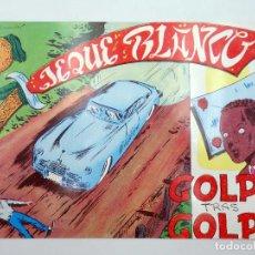 BDs: JEQUE BLANCO 63. GOLPE TRAS GOLPE (NO ACREDITADO) ANDINA, 1982. FACSIMIL. Lote 121037423