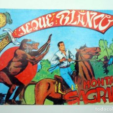 BDs: JEQUE BLANCO 114. LA MONTAÑA SAGRADA (NO ACREDITADO) ANDINA, 1982. FACSIMIL. Lote 121037451