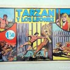 Tebeos: TARZAN REY DE LA SELVA 4. TARZÁN Y LOS LEONES COMICS MAM, S/F. FACSIMIL. Lote 121336051