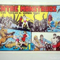 Tebeos: TARZAN EL HOMBRE MONO 15. ENTRE MONSTRUOS COMICS MAM, S/F. FACSIMIL. Lote 121336071