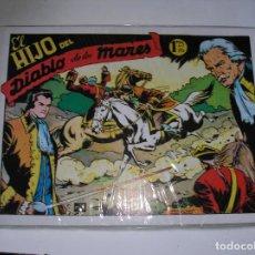 Tebeos: EL HIJO DEL DIABLO DE LOS MARES.- BOIXCAR. FACSIMI, TORAY 1949. COMPLETA 22 NºS. Lote 122550811