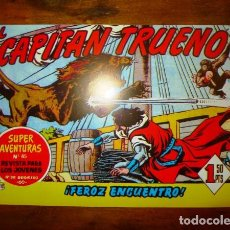 Tebeos: EL CAPITÁN TRUENO. Nº 110 : FEROZ ENCUENTRO (SUPER AVENTURAS ; 85). - REEDICIÓN. Lote 122870755