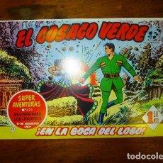 Tebeos: EL COSACO VERDE. Nº 14 : EN LA BOCA DEL LOBO (SUPER AVENTURAS ; 321). - REEDICIÓN. Lote 122952635