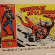 Tebeos: VENDAVAL EL CAPITAN INVENCIBLE 26 NUM , REEDICION COMPLETA. Lote 124233959