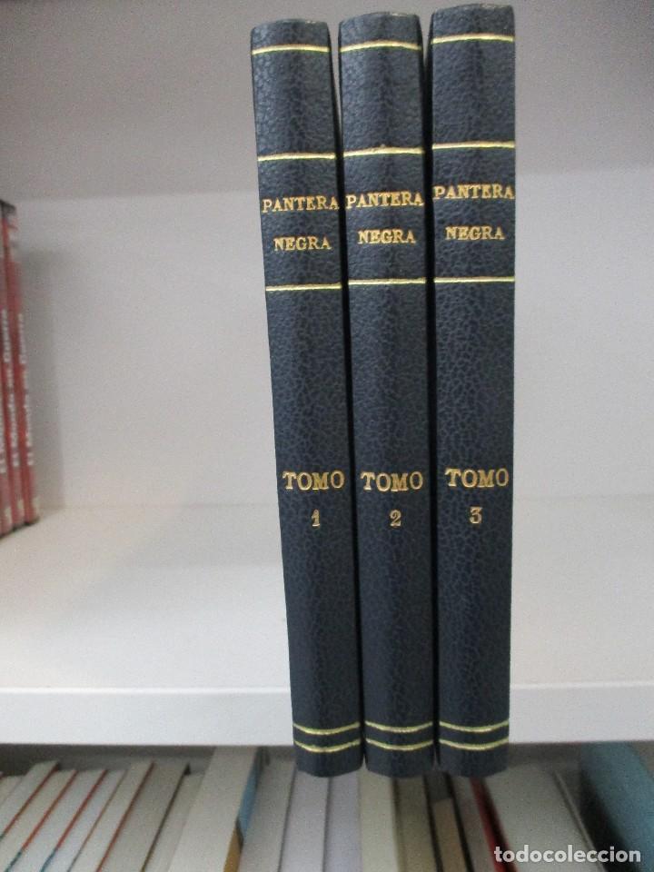 COLECCION COMPLETA PANTERA NEGRA TRES TOMOS DE LUJO REEDICION 54 EJEMPLARES ED. MAGA (Tebeos y Comics - Tebeos Reediciones)