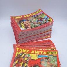 Tebeos: TONY Y ANITA 1 A 153. COMPLETA. MAGA 1951 (QUESADA / GAGO) NO ACREDITADA, 1980. Lote 125930292
