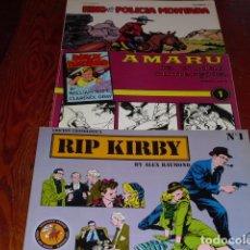 Tebeos: BRICK BRADFORD . RIP KIRBY - KING DE LA POLICIA MONTADA- NUMS 1. Lote 125948903