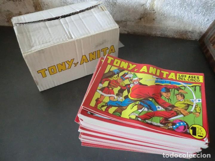 COLECCION COMPLETA DE TONI Y ANITA (EN REEDICION ) (Tebeos y Comics - Tebeos Reediciones)