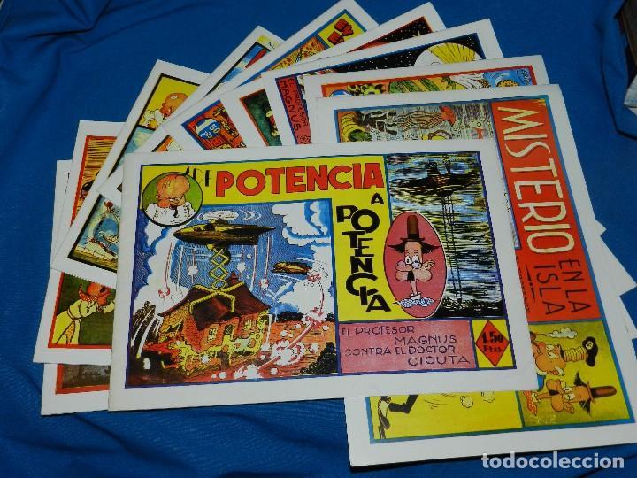 (M12) EL PROFESOR MAGNUS CONTRA EL DOCTOR CICUTA - 10 NUMEROS COMPLETO , RREDICION (Tebeos y Comics - Tebeos Reediciones)