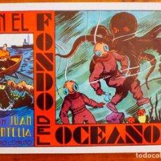 Tebeos: 3 COMICS COLECCIÓN AUDAZ Nº 1-3-7 JUAN CENTELLA. EDITORIAL COMIC MAN. 1988, NUEVO. Lote 127743371