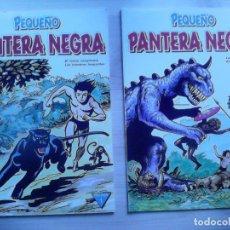 Tebeos: EL PEQUEÑO PANTERA NEGRA. TOMOS 1 Y 2. EDICIONES EYDER.. Lote 129008275
