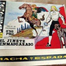 Tebeos: HACHA Y ESPADA (REEDICIÓN), COLECCIÓN COMPLETA DE 58 NÚMEROS. Lote 130641918