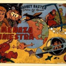 Tebeos: BARNEY BAXTER TOMO 1: AMENAZA SINIESTRA CON LOS 6 PRIMEROS TEBEOS DE VALENCIANA. Lote 131656782