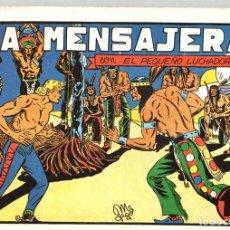Tebeos: LA MENSAJERA CON EL PEQUEÑO LUCHADOR. Nº 16. REEDICION. Lote 132081190
