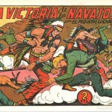Tebeos: LA VICTORIA DE LOS NAVAJOS CON EL PEQUEÑO LUCHADOR. Nº 140. REEDICION. Lote 132081442