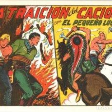 Tebeos: LA TRAICION DEL CACIQUE CON EL PEQUEÑO LUCHADOR. Nº 143. REEDICION. Lote 132081539