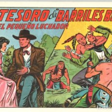 Tebeos: EL TESORO DE BARRILES BILL CON EL PEQUEÑO LUCHADOR. Nº 141. REEDICION. Lote 132081666