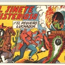 Tebeos: EL JINETE MISTERIOSO CON EL PEQUEÑO LUCHADOR. Nº 145. REEDICION. Lote 132081737