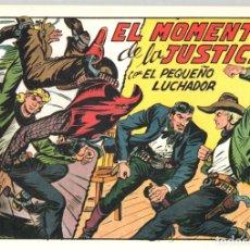 Tebeos: EL MOMENTO DE LA JUSTICIA CON EL PEQUEÑO LUCHADOR. Nº 224. REEDICION. Lote 132082643