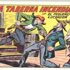 Tebeos: LA TABERNA INCENDIADA CON EL PEQUEÑO LUCHADOR. Nº 227. REEDICION. Lote 132082727