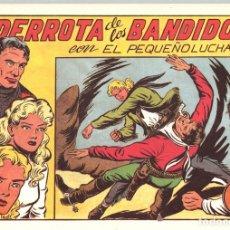 Tebeos: LA DERROTA DE LOS BANDIDOS CON EL PEQUEÑO LUCHADOR. Nº 70. REEDICION. Lote 132083117