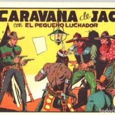 Tebeos: LA CARAVANA DE JACK CON EL PEQUEÑO LUCHADOR. Nº 15. REEDICION. Lote 132083359